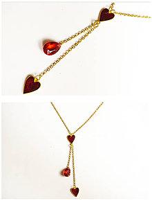 Náhrdelníky - Swarovski náhrdelník - 11999067_