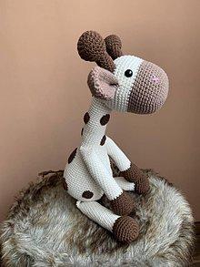 Hračky - žirafka Škvrnka - 11997685_