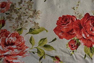 Sukne - Kvetovaná retro sukňa - 11999388_