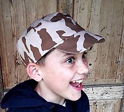 Detské čiapky - ŠILTOVKA PRE VäČŠÍCH CHLAPÍKOV - 12000528_