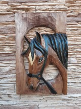 Dekorácie - Kôň stredný  - 12003218_