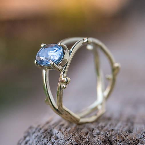 Prstene - Snubáčik pre lesnú vílu  (zlato) - 12001882_