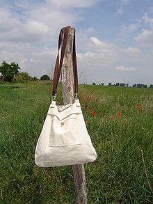 Veľké tašky - Taška UNI, bavlna+ľan - 12002830_