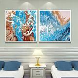 Obrazy - Morské_set_100x50cm - 12003552_