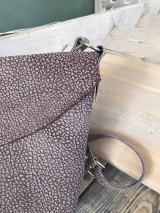 Kabelky - kožená taška_hnedá_zľava - 12001642_