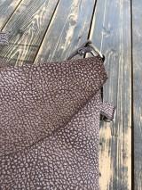 Kabelky - kožená taška_hnedá_zľava - 12001643_