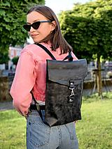 - kožený batoh_ - 12002657_