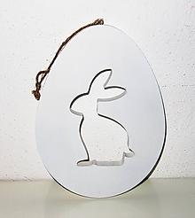 Polotovary - Veľkonočný zajačik 21,5 cm - na dotvorenie - 12004045_
