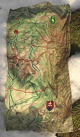Šatky - Multifunkčná šatka Západné Tatry - 12001773_