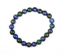 Náramky - Lapis lazuli n123 náramok - 12002634_