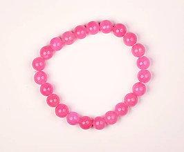 Náramky - Kalcit ružový n141 náramok - 12002786_