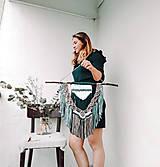 Dekorácie - Macramé nástenná dekorácia - Lesná víla - 12003020_