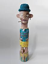 Duke - drevená socha