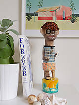 Kauri - drevená socha