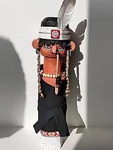 Tatanka - drevená socha