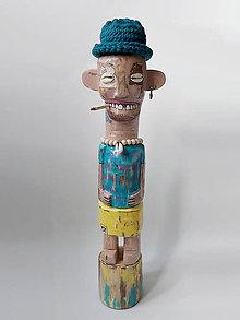 Sochy - Duke - drevená socha - 12003720_