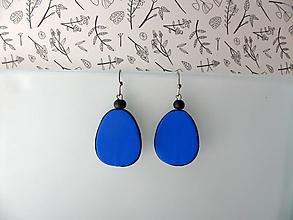Náušnice - ,,Modré slzičky,, - 12007471_