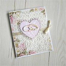 Papiernictvo - Svadobná pohľadnica - 12004341_