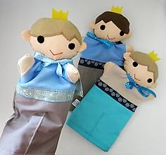 Hračky - Maňuška princ - na objednávku - 12005860_