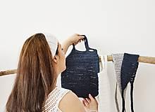 Nákupné tašky - Letná taška/sieťovka - morské pobrežie - 12005894_