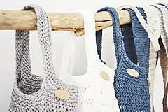 Nákupné tašky - Letná taška/sieťovka - morské pobrežie - 12005899_