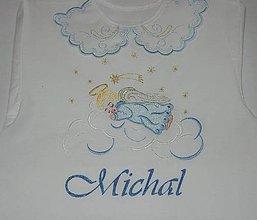 Detské oblečenie - Košieľka na krst - anjelik - 12004862_