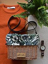 Kabelky - Prútená kabelka na rameno N°2 - 12005563_