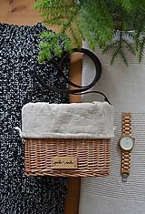 Kabelky - Prútená kabelka na rameno N°5 - 12005567_