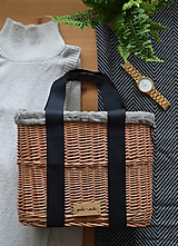 Kabelky - Prútená kabelka do ruky N°3 - 12005568_