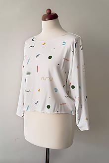 Tričká - Voľné tričko z tenclu - 12005828_