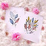 Obrazy - ART Print lístky - 12004810_