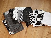 Textil - Domy a hviezda pre Dominiku - 12005601_
