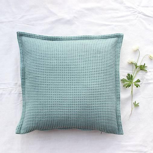 Obliečka WAFFLE cotton pastel 40x40cm