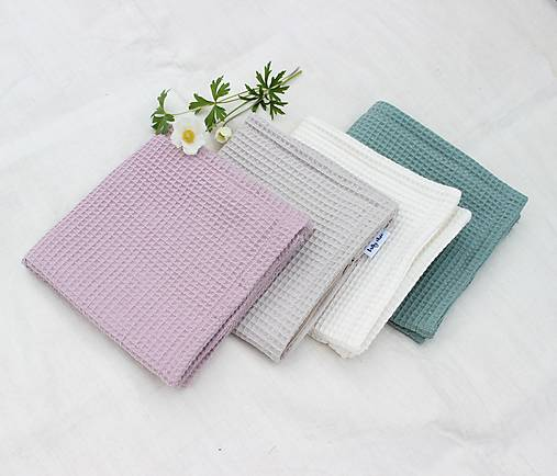 Obliečka WAFFLE cotton pastel (50x50cm)