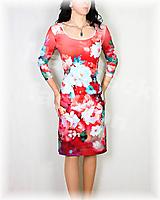 Šaty - Šaty vz.538 i krátký rukáv - 12009358_