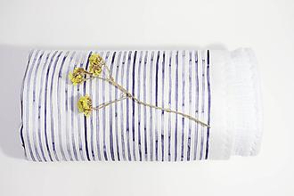 Textil - !Zľava! INDIGO detská prikrývka - More - 12008150_