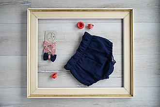 Detské oblečenie - Mušelínové nohavičky - 12008350_
