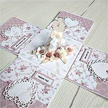 Papiernictvo - Krabička na peniaze - 12008709_