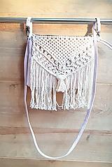 Kabelky - macramé záves na kabelku - 12010688_
