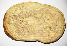Pomôcky - Veliké hrubé drevené pláty z Agátového dreva - dlhé 30 cm - Sada 3 kusy - 12010536_