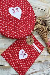 Úžitkový textil - Čiapka na kváskovanie na ošatku+vrecko - 12010840_