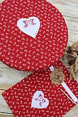 Úžitkový textil - Čiapka na kváskovanie na ošatku+vrecko - 12010841_