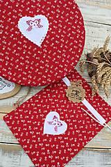 Úžitkový textil - Čiapka na kváskovanie na ošatku+vrecko - 12010843_