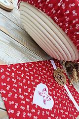 Úžitkový textil - Čiapka na kváskovanie na ošatku+vrecko - 12010846_