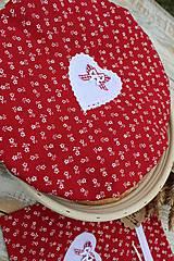 Úžitkový textil - Čiapka na kváskovanie na ošatku+vrecko - 12010847_
