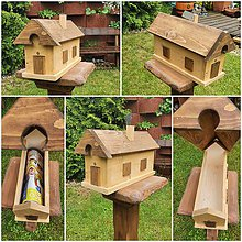 Nábytok - Poštová schránka domček - 12009162_