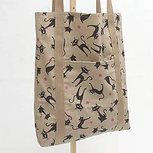 Nákupné tašky - Nákupná eko taška - MAČKA 2 - 12008313_