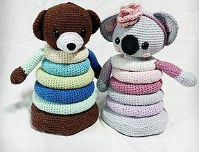 Hračky - Skladacia hračka-Koala - 12008861_