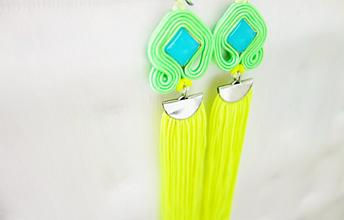 Náušnice - Náušice Neon - 12009588_
