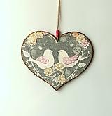 Tabuľky - tabuľka na dvere holubičky ♥ - 12008375_